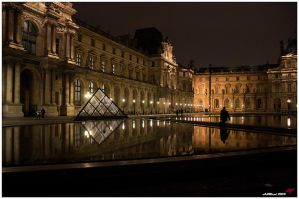 Louvre other side by neoxavier