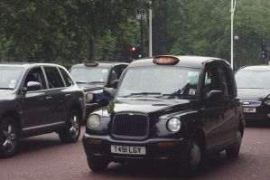 typical taxi by Pettasd
