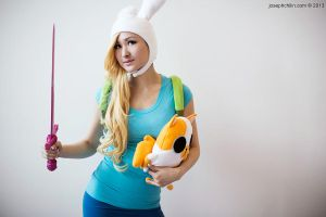 Fionna and Cake - Adventure Time by Mostflogged