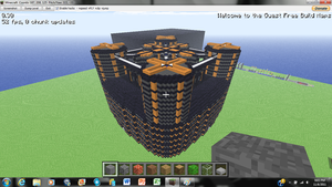 Minecraft Highrise Dome 2 by irHAXOR
