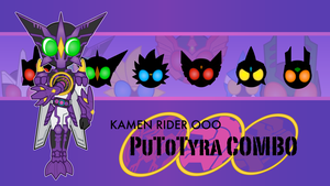 Kamen Rider OOO Wallpaper by Dragon-FangX