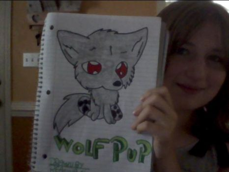 wolf pup request by cnling23