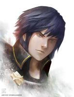 FE Awakening: Chrom by EternaLegend