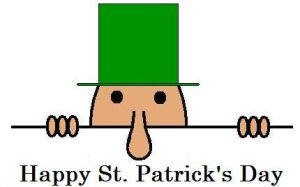 Happy St Patricks Day by hilliard