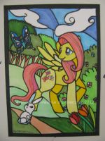 Fluttershy and the Butterfly SOLD by mialythila