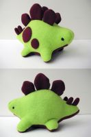 Stego Plush 4 by MowenDesigns