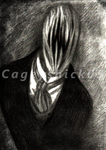 Slenderfather [Pencil] by Cageyshick05