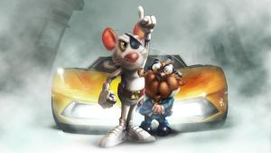DangerMouse Banner by DazTibbles