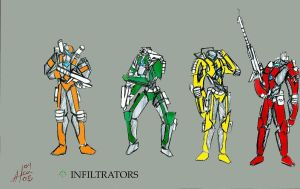 infiltrators:complete by shadowhacker7