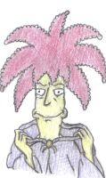 The Man In The Cloak Is...Sideshow Bob by therealmoshmonkey