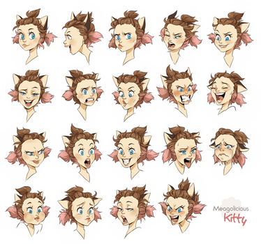Kitty expressions by meago