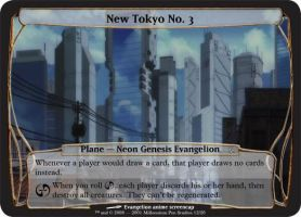 M:tG Planechase - New Tokyo 3 by Ari22682