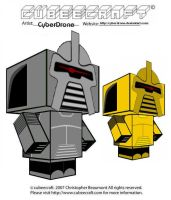 Cubeecraft - Cylons by CyberDrone