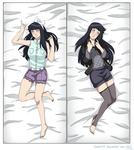 Hinata Dakimakura Commission by shock777