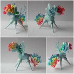 Quilling 3D - Rainbow Dash by Sszymon14