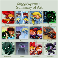 PPG Art of 2011 by JKSketchy