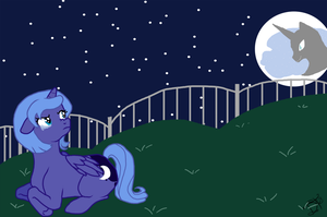 Stupid Moon by Awkwardly-Handsome