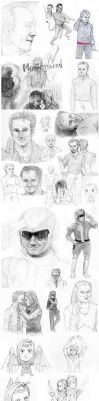 2010 Sketch-dump of  insanity by Panzerwing0
