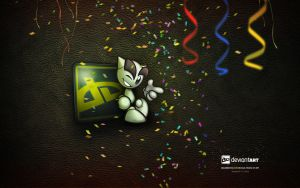 dA 12th Birthday Wallpaper by Miguel-Santos
