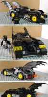 Batmobile by teamzoth