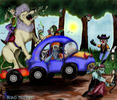 Inky's Gift: Road Tripping by SirCrocodile
