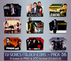 TV Series - Icon Pack 56 by apollojr
