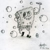 Spongebob by artsiipunk