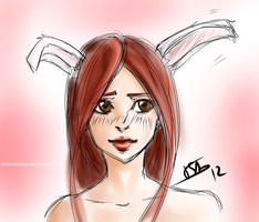 Isa-bunny ears by littleWildviolet