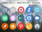 Button UI 2.0 ~ App Pack #5 by BlackVariant