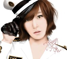 snsd digital paintings-tiffany by blastfaizu2