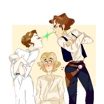 Draw The Star Wars Squad by litleeo