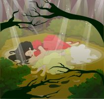 snow white and rose red by michellekathryn