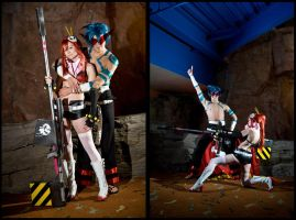 Gurren Legann: Kamina and Yoko by Elemental-Sight