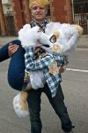 Fursuiting: Bubby lift! by BecDerp
