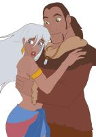 Kida and Sitka Crossover by Lailu-Cakes