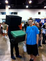 Comicon - Enderman by THE-R4GE