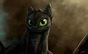 Toothless by 44Shadow44