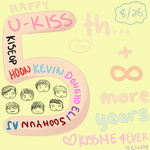 Happy 5th Anniversary to U-KISS!! by Cherrystarx3