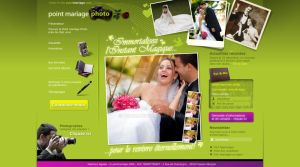 Wedding photo service template by Giboo
