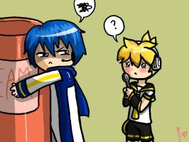 len and kaito - request by EmiiriOrochi