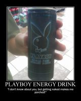 Playboy Energy -demotivation- by Dragunov-EX