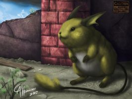 Real Raichu by CamusAltamirano