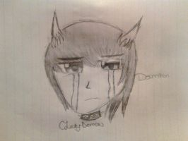 Sad Damien by Claddle