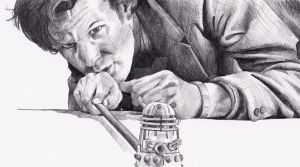 Matt Smith as Doctor Who by Kate-Murray