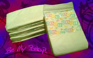 Diaper Faceplate by Jaqualynn