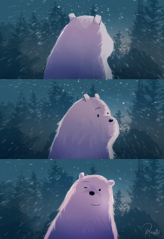 We Bare Bears - Through The Snow by Brian-Rousette