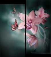 Flowers Of Hope(Digital Painting) by chamirra