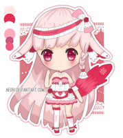 [ADOPTS] Pink Love - CLOSED by amesuu