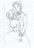 Victorian couple 01 by grimkim