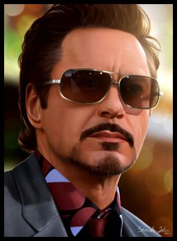 Robert Downey Jr ver.2 by Sheridan-J
